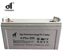 12v 200ah Maintenance free lead carbon deep cycle solar battery