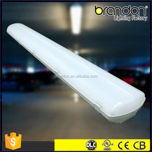 4 Feet LED Outdoor Light Fixtures Integrated 4FT IP65 LED Tube Lamp Hanging Light Fixtures