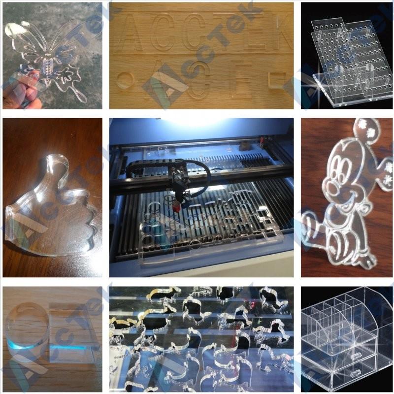 AKJ1325 Acctek 1325 co2 150w laser cutting machine price/photo co2 laser machine price