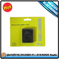 High Quality For PS2 Memory Card 8MB,16MB,32MB,64MB