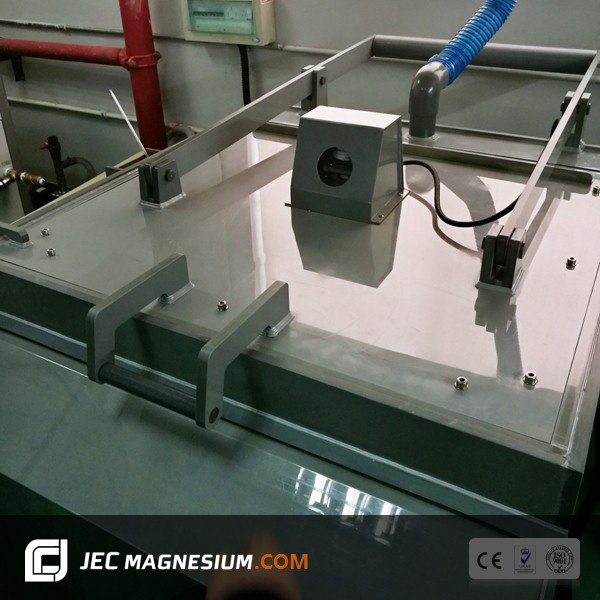 Hot Foil Stamping Die Etching Machine for Magnesium Zinc Copper Plate