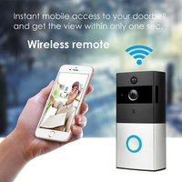 HD 720P Front Door Peephole Smart Home Motion Detection P2P Remote Control Wifi CCTV Wireless Doorbell Camera