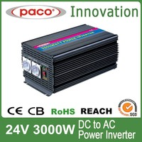 Power star inverter 3000w 24v,DC to AC with CE CB ROHS certificate