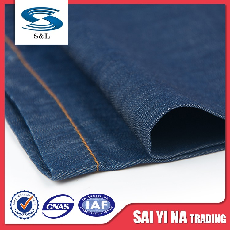 China new arrival light weight 100% tencel denim fabric for men's jeans and shirts