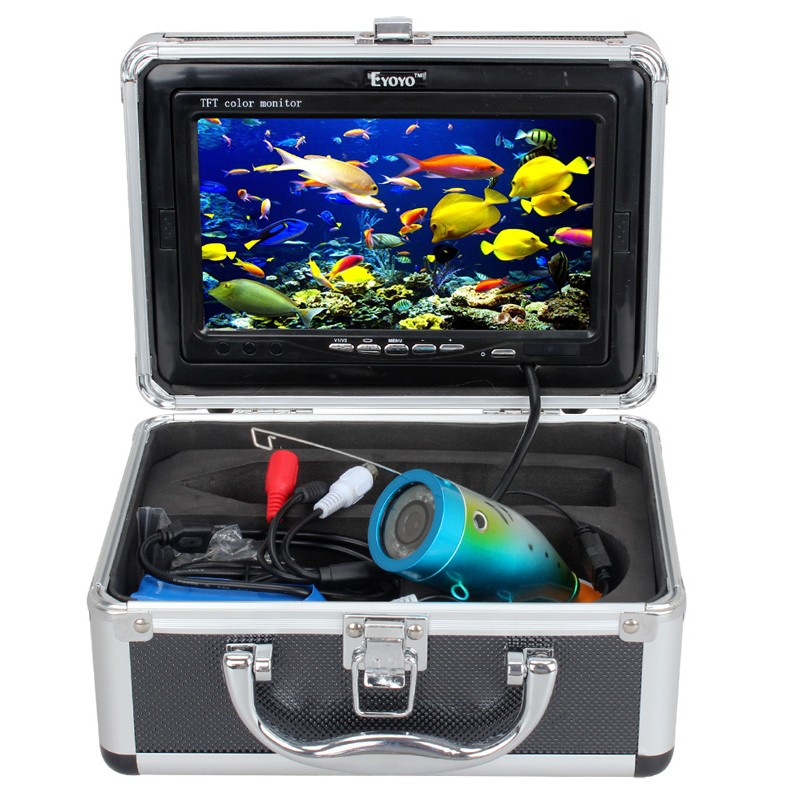 AU! 15m EYOYO 110-7L Fish Finder Underwater Ice Fishing HD Camera 7'' Monitor
