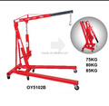 2T Hydraulic Foldable Shop Crane with CE