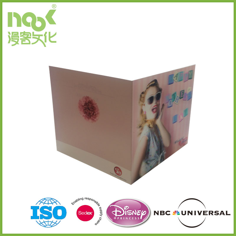 3D Lenticular Cards for Promotion