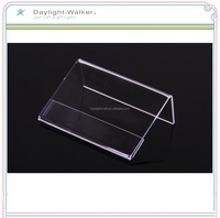 Advertising transparence custom plastic mini photo frame