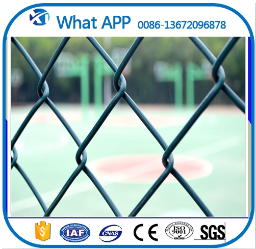 5 foot plastic coated retractable decorative chain link fence