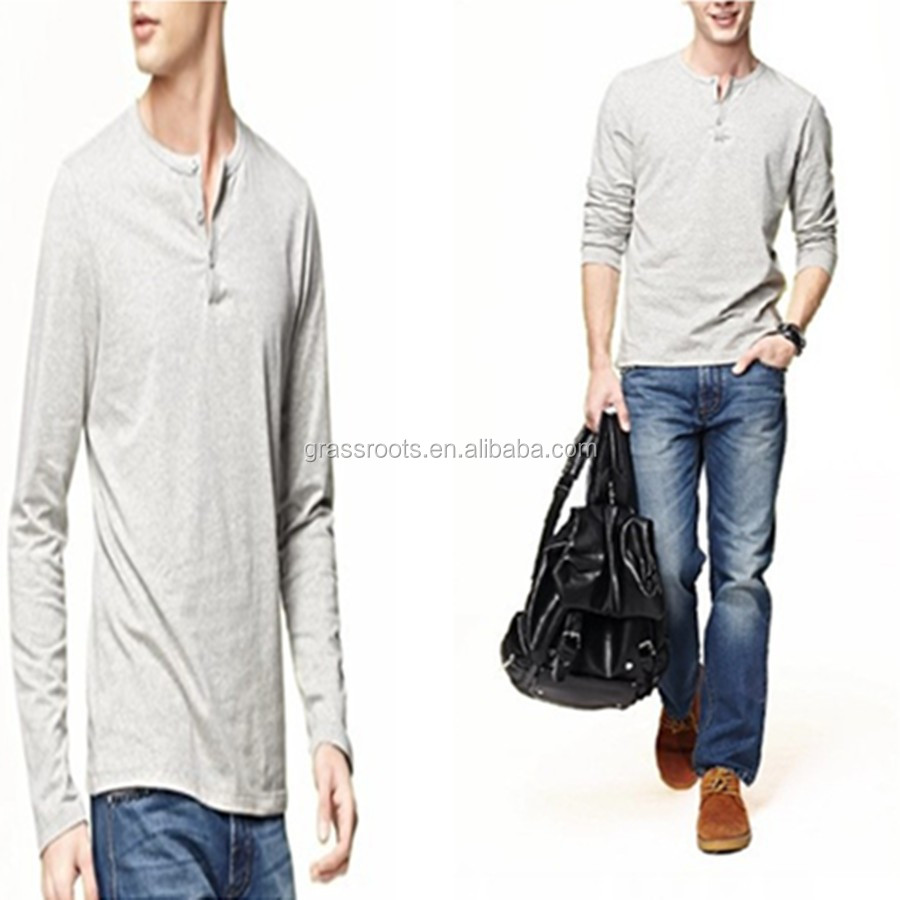 China manufacturer plain cotton t shirt tall banded collar for Buy 100 cotton t shirts in bulk
