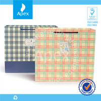 Wholesale printed luxury paper shopping bag