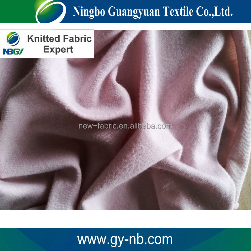 Kintted fabric manufacturer 30% polyester 70% cotton fabric