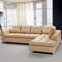 lifestyle sofa guangzhou furniture leather corner sofa for home