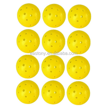 Eastony Dura Pickleball Ball One Dozen Yellow Game Play Court ...