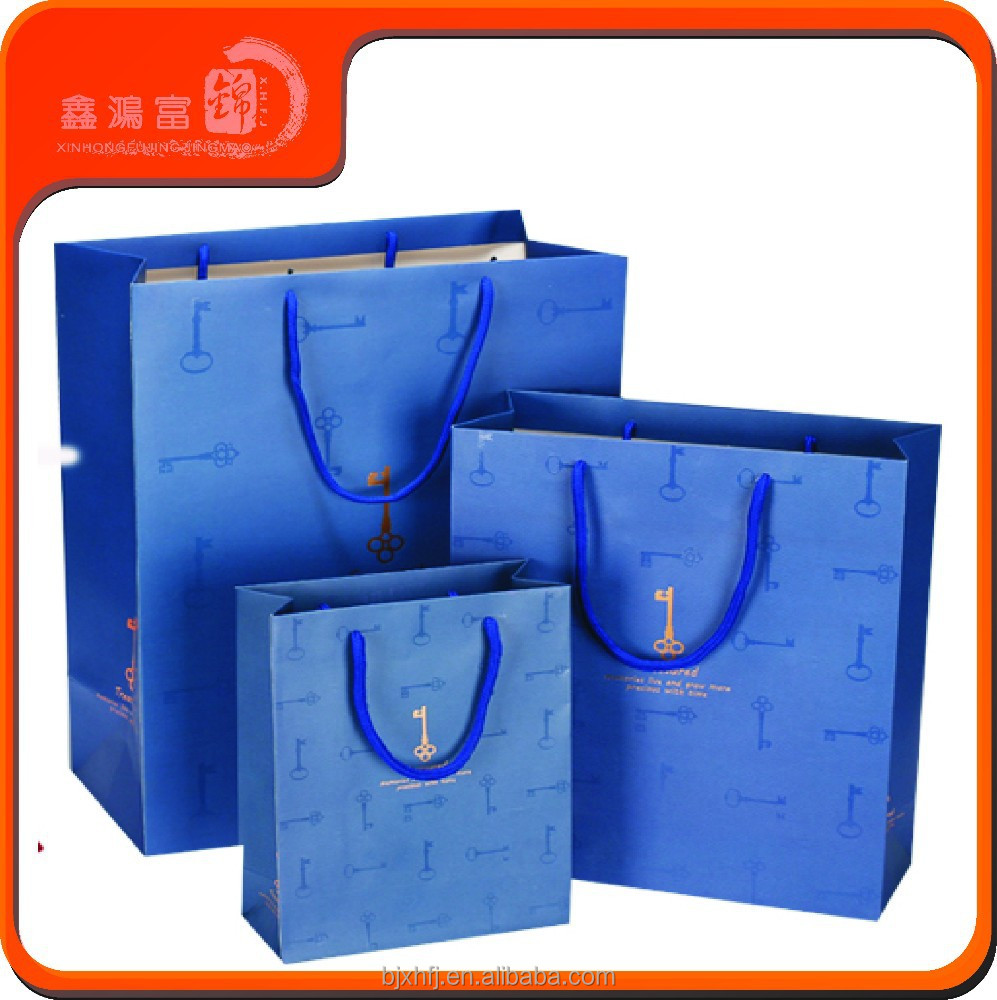 Different Types Design Fancy Customized Printed Paper Shopping Bag Brand Name