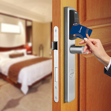 High quality electronic smart rfid card locker lock, euro mortise lock narrow proximity electronic