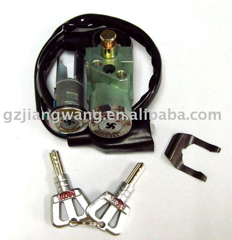 Bajaj pulsar motorcycle lock set,ignition switch side lock fuel tank lock for suzuki motorcycle