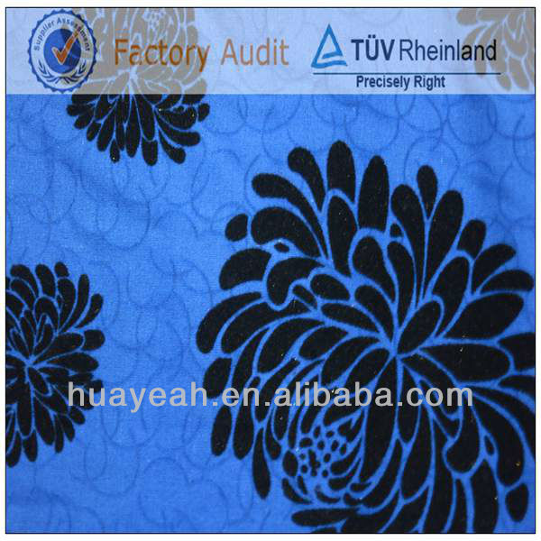 flower print jacquard temple furniture fabric for sofa