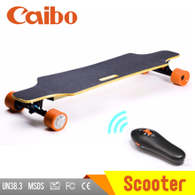 High speed motor powered electric skateboard 1000w