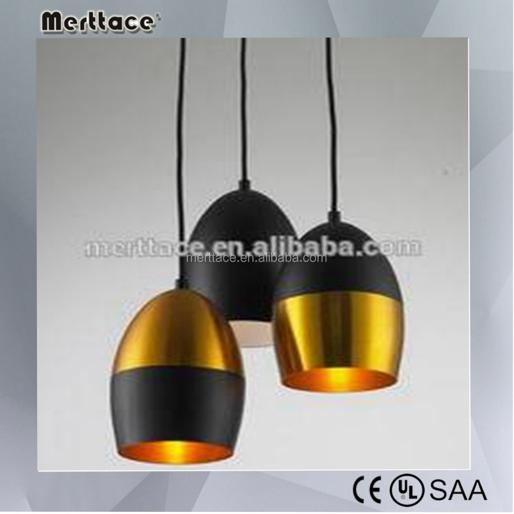 Egypt style gold pendant lamp for home