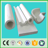 waterproof calcium silicate insulation section pipe with light weight