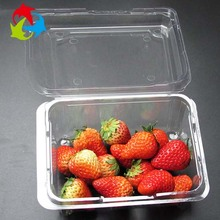 Disposable food grade blister packaging tray plastic clamshell fruit container