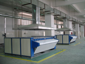 Gas fired Cylinder-heated Ironer with Diameter 800mm cyliner