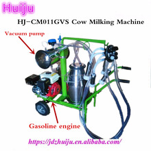 Cheap new type moveable cow milking machine price for sale