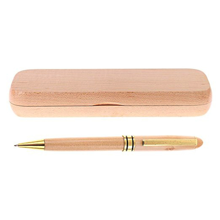 wholesale promotion custom logo luxury wood ballpoint <strong>pen</strong>