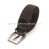 2014 Casual Style 44 Inch Women's men's cotton canvas nylon leather jeans belts with pin alloy belt buckles