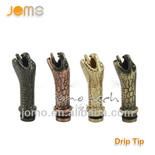 Hot selling 2013 new product cheap dragon drip tip dripping for alibaba in Spain