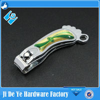 foot shape nail nippers hot sales fingernail clippers