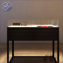 High grade popular stands for malls show jewellery shop counter jewelry display units