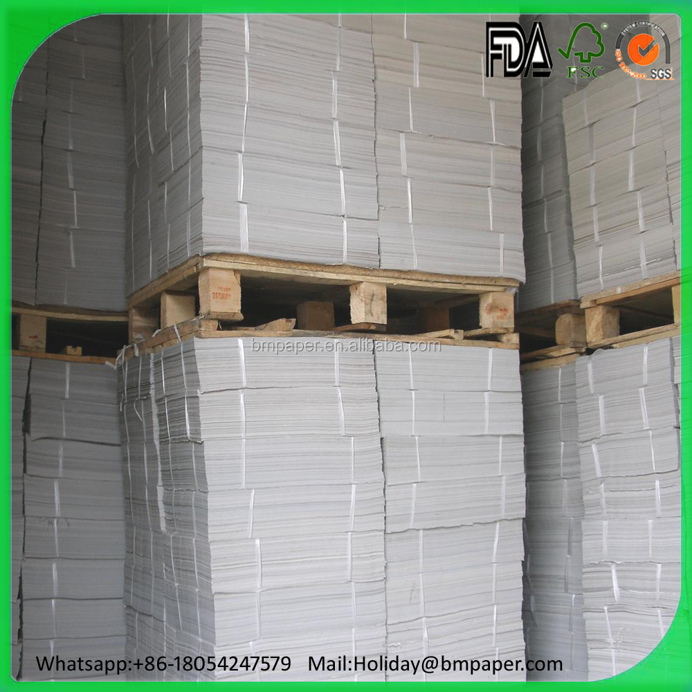 2016 Wholesale high stiffness 90gsm coupon bond paper
