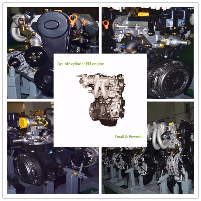 2-cylinder engine with gearbox Vertical gasoline engine 600CC displacement Suitable for ATV UTV Gokart