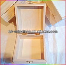 2014 New Unfinished Wood Craft Boxes