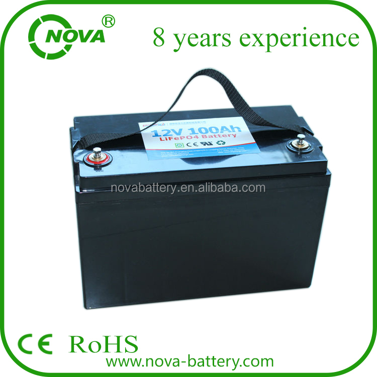Wholesale rechargeable 12v 100ah lifepo4 battery pack 12v100ah