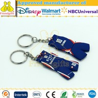 NBCUniversal audited factory high quality soft pvc keychain