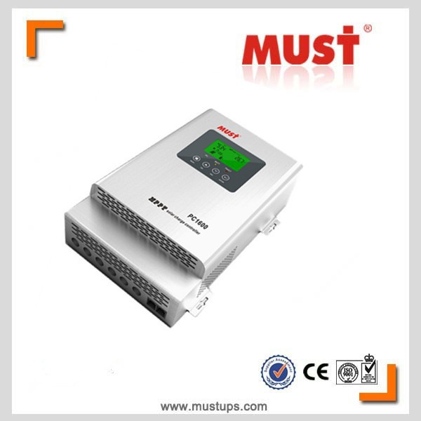 <MUST POWER LIMITED>PC1600 Series 20a 30a 40a 45a 60a MPPT solar charge controller 12V 24V 36V 48V adjustable