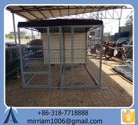 New Design Cheap Comfortable dog kennels Welded Wire dog kennels/ Chain Link dog kennels