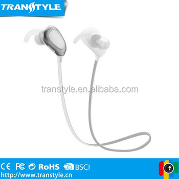 long stand by time bright Silver Sports Wireless Earphone