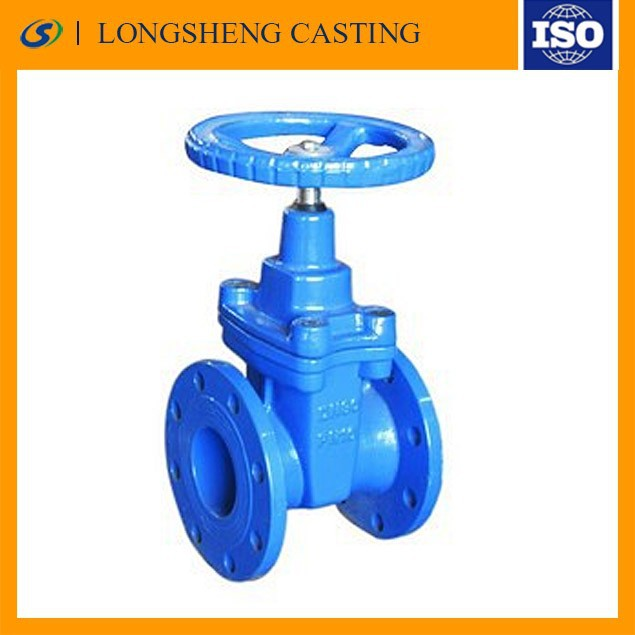 rise stem gate valve with seal as well as grooved connecting