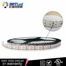 SMD 120 view angle flexible led strip 3528 led strip