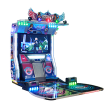 arcade dancing machine music simulator for two players