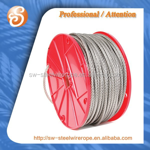 plastic reel steel wire rope cable