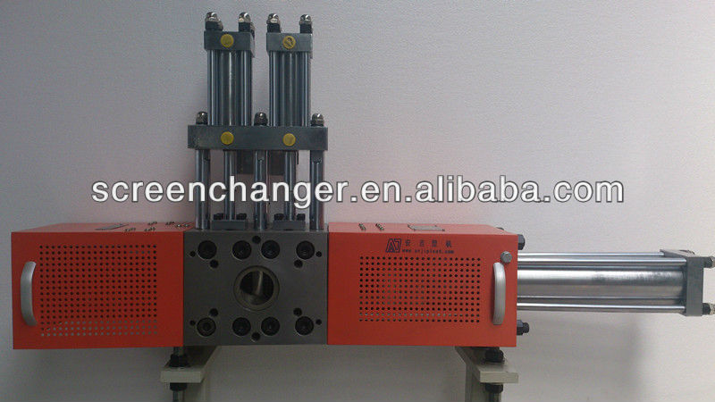 single-plate screen changer with backflush system