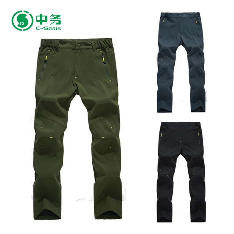 High Quality Waterproof Windproof Quick Dry Outdoor Pants Mens Hiking Pants