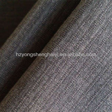 100%polyester waterproof like linen fabric for bags with double yarn