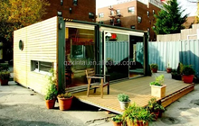 Europe and the United States portable 2016 container / prefabricated wooden houses for sale