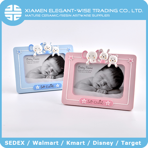 China manufacturer baby photo frame decorative special moments chinese resin picture frames